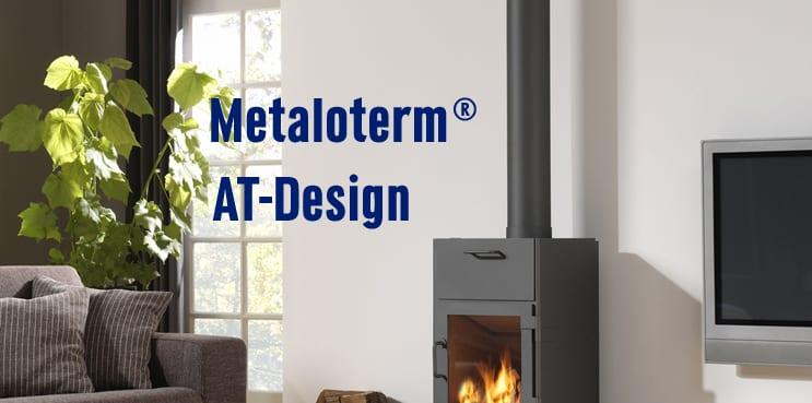 Metaloterm - AT-Design banner | 't Smidje haarden & kachels
